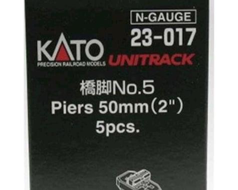 "Kato N 50mm 2"" Piers (5)"