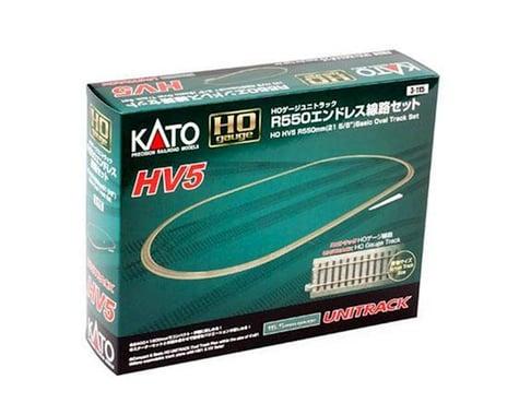 HO HO HV5 Basic Oval Track Set
