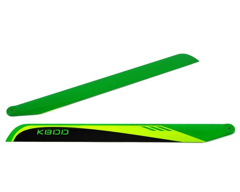 KBDD International 515mm Carbon Fiber Flybarless Main Blades (Black)