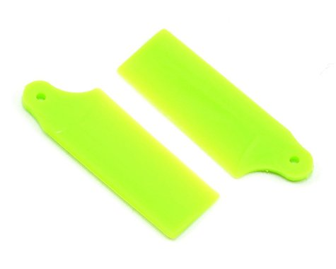 KBDD International Blade 130 X Extreme Edition Tail Blade Set (Neon Lime)