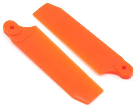 KBDD International 72.5mm Extreme Tail Blade w/5mm Root (Neon Orange)