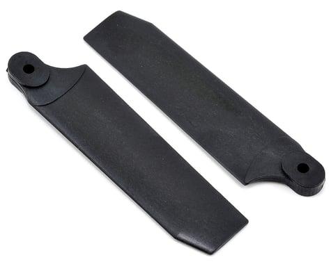 KBDD International Extreme Edition 72.5mm Tail Blade Set w/5mm Root (Black)