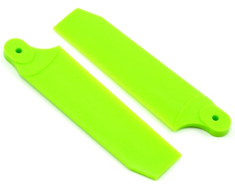 KBDD International Extreme Edition 84.5mm Tail Blade Set (Neon Lime)