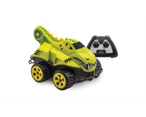 Kid Galaxy 10194 - Amphibious RC Car Mega Morphibians Crocodile. All Terrain Remote Control Toy, 2.4 Ghz