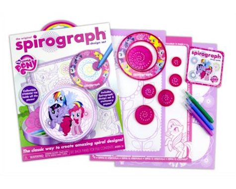 Kahootz Spirograph Tin & Pad My Little Pony Playset