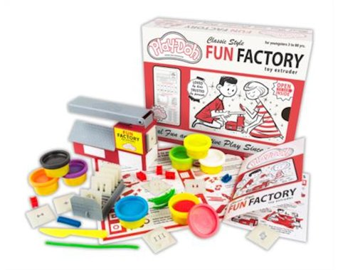 Kahootz Play-Doh Classic Fun Factory Playset