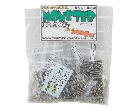 Team KNK Monster Bag Stainless Hardware Kit (700)