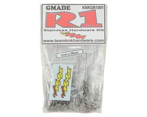 Team KNK Gmade R1 Stainless Hardware Kit (350)