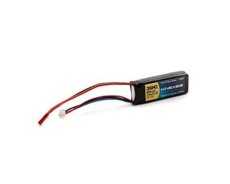 Kinexsis 7.4V 800mAh 2S 30C LiPo, 18AWG, JST