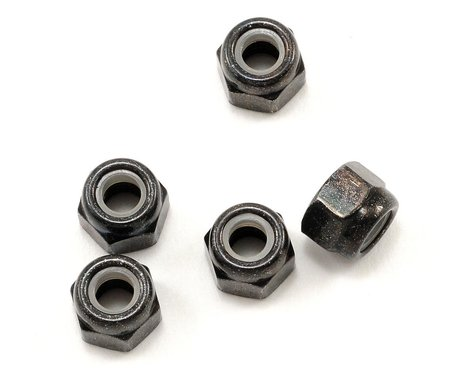 Kyosho 4x5.5mm Steel Locknut (5)