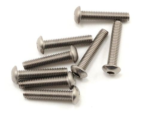 Kyosho 3x15mm Titanium Button Head Hex Screw (8)
