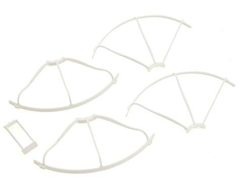 Kyosho Zephyr/G-Zero Propeller Guard & Wing Stay Set (White)