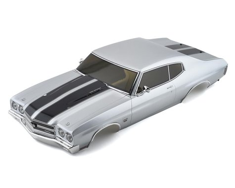Kyosho Chevy Chevelle SS454 LS6 Pre-Painted Body (Cortez Silver)