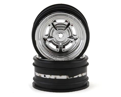 Kyosho Fazer Rostyle Sedan Wheels (2) (Chrome)