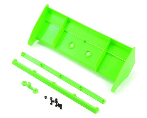 Kyosho MP9 TKI4 1/8 Plastic Wing w/Wickerbills (Green)
