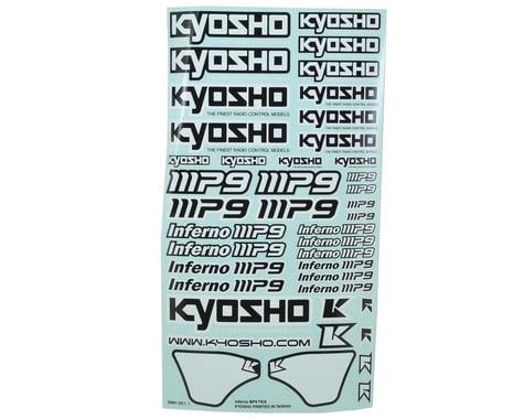 Kyosho MP9 TKI4 Decal Sheet