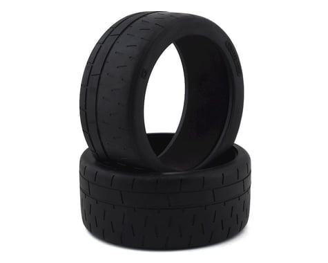 Kyosho Radial Tire w/Insert (2) (Use w/KYOIGH007)
