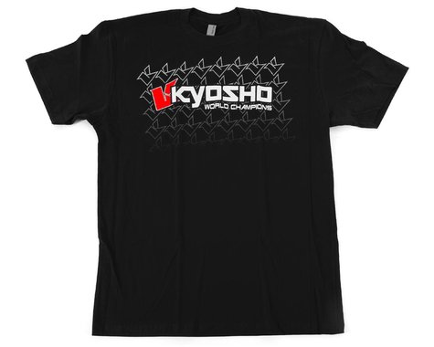 "Kyosho ""K Fade"" 2.0 Short Sleeve T-Shirt (Black) (M)"