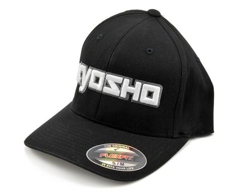 """Kyosho """"3D"""" Flexfit Hat (Black) (S/M)"""