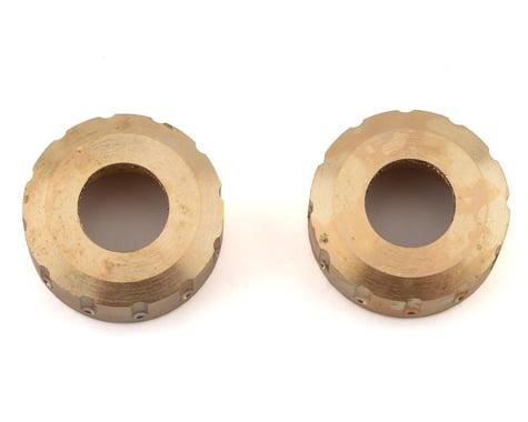 Kyosho MX-01 Brass Rear Axle Cap (2)