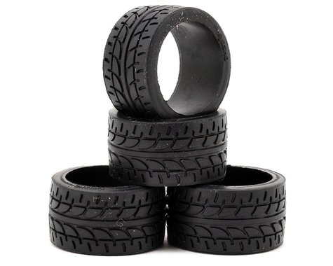 Kyosho 11mm Wide Racing Radial Tire (4) (10 Shore)