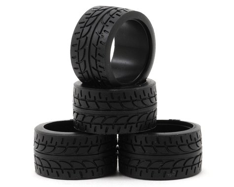 Kyosho 11mm Wide Racing Radial Tire (4) (20 Shore)