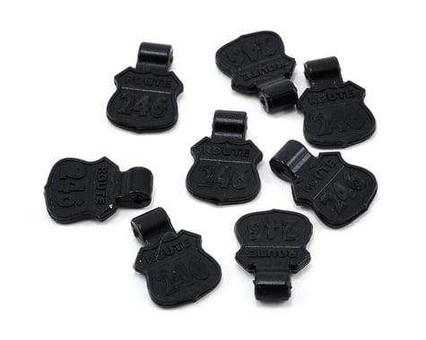 Kyosho 6mm Rubber Body Pin Tab Set (8)