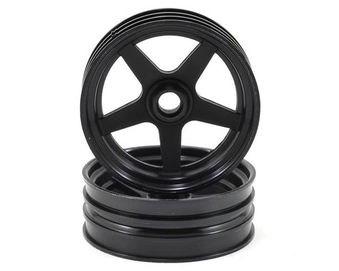 Kyosho 5-Spoke Front Wheel (2) (Black)