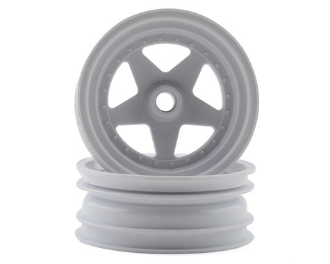 "Kyosho Turbo Scorpion 2.2"" Front Wheel (White) (2)"