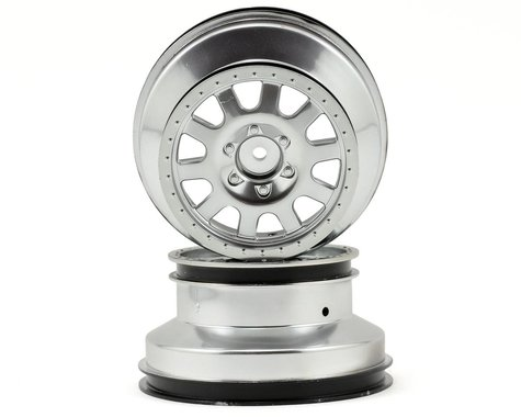 Kyosho 12mm Hex Short Course Wheels (Silver) (2) (SC6)