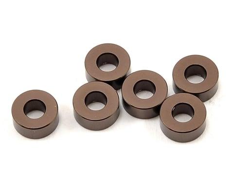 Kyosho 3x7x3mm Aluminum Washer (Gun Metal) (6)