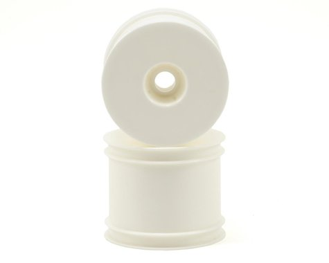 """Kyosho 2.2"""" Quick Change Stadium Truck Wheel (White) (2) (RT6)"""