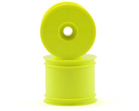 """Kyosho 2.2"""" Quick Change Stadium Truck Wheel (Yellow) (2) (RT6)"""