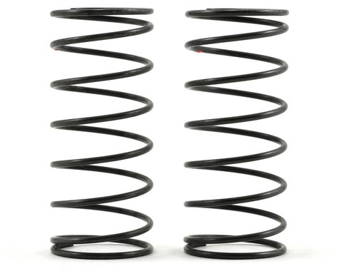 Kyosho Big Bore Front Shock Spring Set (Red/Hard) (2)