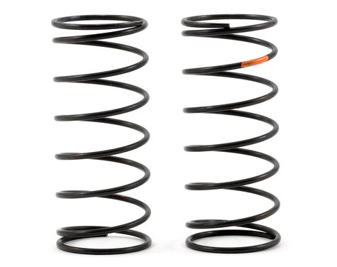 Kyosho Big Bore Front Shock Spring Set (Orange/Super Hard) (2)