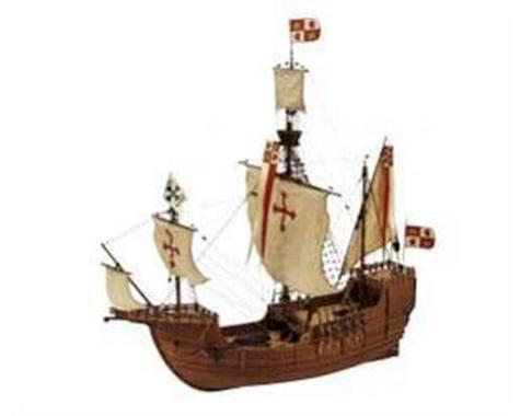 Latina 1 65 Carabela Santa Maria Wooden Model Ship Kit