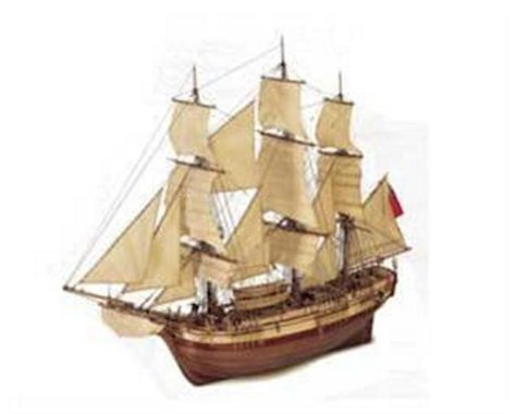 Latina 1 48 Bounty Wooden Model Ship Kit