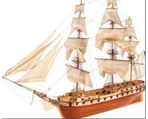 Latina 1 85 U.S. Constellation Wooden Model Ship Kit