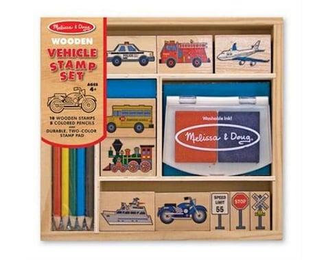 Melissa & Doug  Transportation Stamp Set
