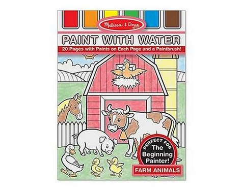 Melissa & Doug  Paint With Water: Farm Animals