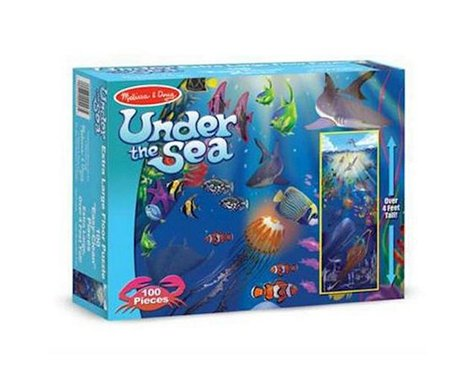 Melissa & Doug  Under The Sea 100Pc Floor Puzzle