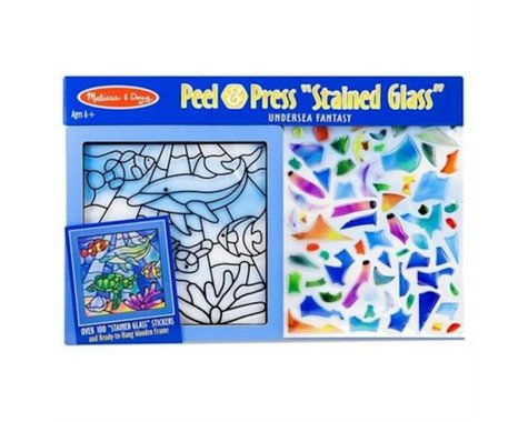 Melissa & Doug  Stained Glass Undersea Fantasy Pee