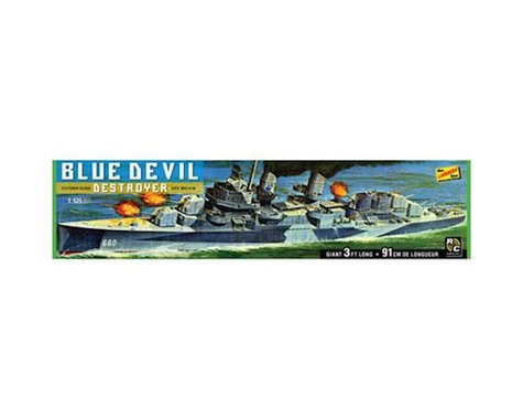 Lindberg Models 1/125 Blue Devil Destroyer