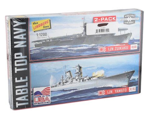 Lindberg Models 1/1200 Tabletop Navy #2 WWII Japanese Ships (2 Pack)