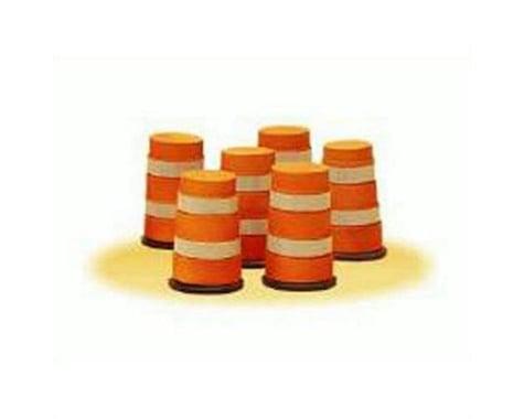 Lionel O Highway Barrels (6)