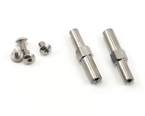 Lunsford Associated B4/SC10 Titanium Front Axles (2)