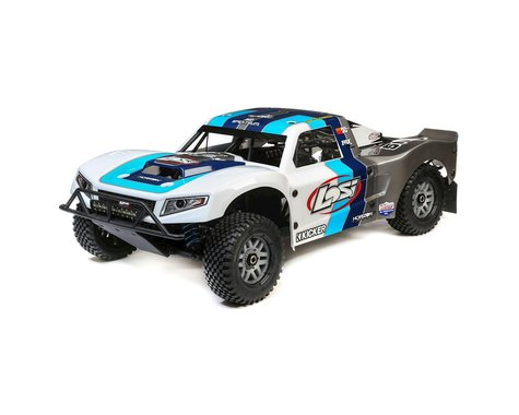 Losi 5IVE-T 2.0 1/5 Bind-N-Drive 4WD Short Course Truck (Grey/Blue/White)