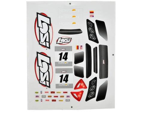 Losi Mini Rally Sticker Sheet