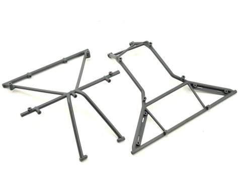 Losi Rock Rey Roll Cage Top (Gray)