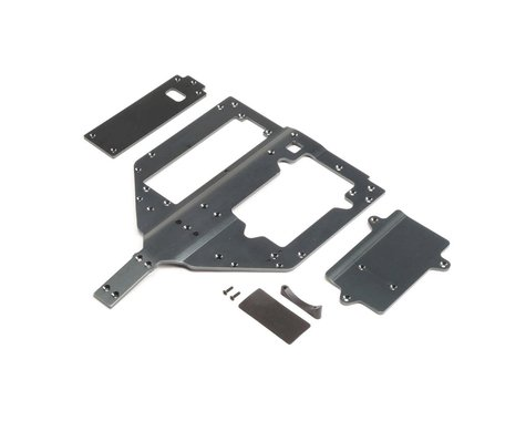 Losi Chassis, Motor & Battery Cover Plates (Super Rock Rey)